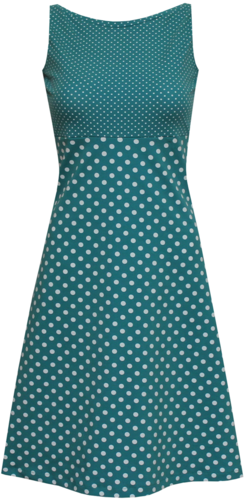 dots allover Kleid Eve Gr. 40